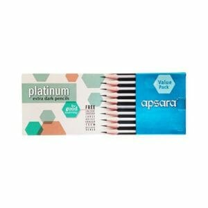 Apsara Pencils Platinum – (Pack of 20) Value Pack