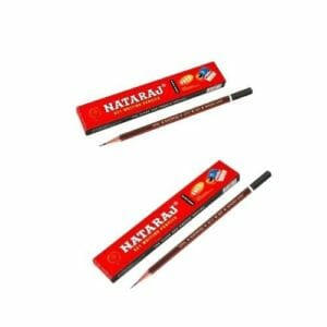 Black Pencil Natraj Pencil Black (Pack of 10 Pcs)