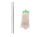 Springmop Smart Wet Mop Set - Ms150-300, Cut Ends, Green Code.